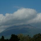 Vesuvius, an active volcano by Margaret  Shark
