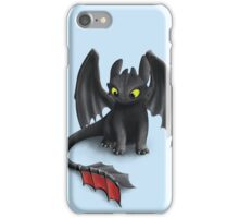 Toothless, Night Fury Inspired Dragon. iPhone Case/Skin