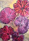 "November's Garden 10 - Monoprint by Belinda ""BillyLee"" NYE (Printmaker)"