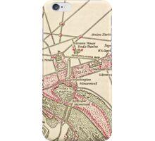 Washington DC Vintage Map iPhone Case/Skin
