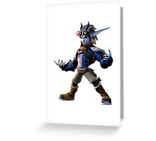 Dark Jak Greeting Card