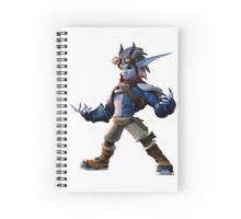 Dark Jak Spiral Notebook