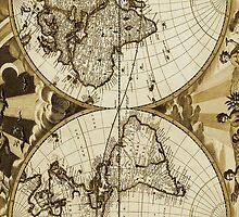 World Map Vintage by PrieeCase82