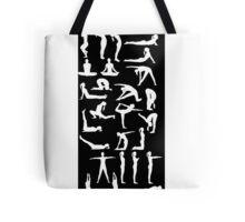 Yoga Position Tote Bag