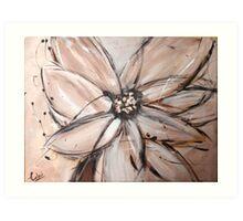 abstract flower 2 Art Print