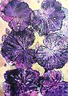 """November's Garde 11 - Monoprint by Belinda """"BillyLee"""" NYE (Printmaker)"""