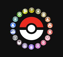 Pokemon Type Wheel T-Shirt