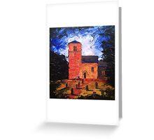 'Saxon Church, Kirk Hammerton' Greeting Card