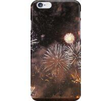 White Australia Day Fireworks iPhone Case/Skin