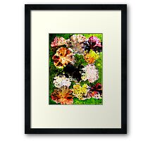 Novembers Garden 12 Monoprint Framed Print