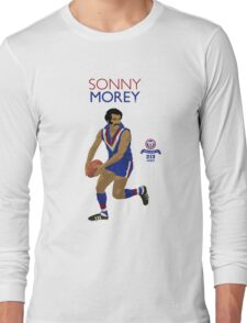 Sonny Morey (Central Districts) on Duckworth White Long Sleeve T-Shirt