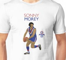 Sonny Morey (Central Districts) on Duckworth White Unisex T-Shirt