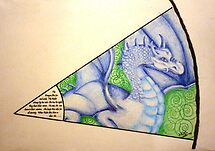 """Dragon Sight - My piece for the Collaboration:  """"In the Eye of the Beholder - 8 Artists, 1 piece"""" by Picatso"""
