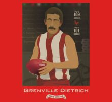 Grenville Dietrich - North Adelaide (on Robran Red) by Chris Rees
