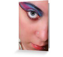 Big Eye, Big Eye Shadow Greeting Card