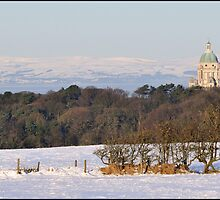 Across Lancaster towards The Lakes by Richard Ion