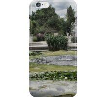 Italian Garden, Hyde Park. iPhone Case/Skin