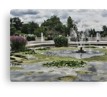 Italian Garden, Hyde Park. Canvas Print