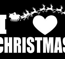 i heart christmas by trendz