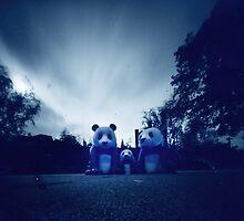 pandas by Soxy Fleming