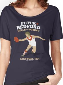 Peter Bedford, South Melbourne Women's Relaxed Fit T-Shirt