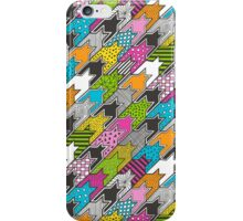 Houndstooth  Geometric Popart Doodle iPhone Case/Skin