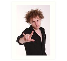 Dave Campbell - Comedian - promo 2 Art Print