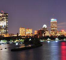 Boston night view by Nikhil Kulkarni