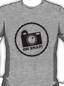 Oh Snap! (Negative) T-Shirt