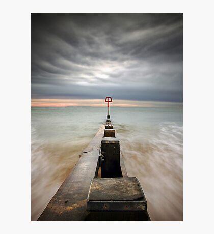 Swanage Groyne Photographic Print