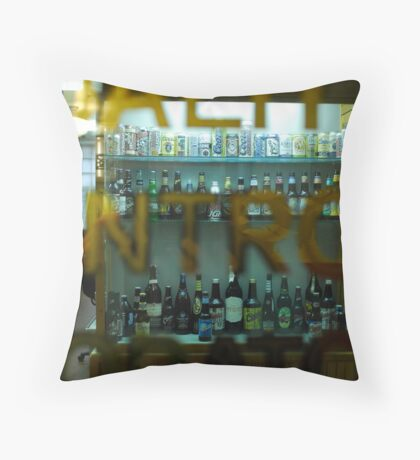 Quality Control Throw Pillow