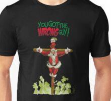 WRONG SANTA Unisex T-Shirt