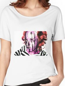 Faces Of Beautiful Horror- Image 7/Red Hair Women's Relaxed Fit T-Shirt