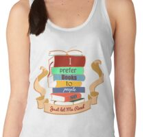 I prefer books  Women's Tank Top