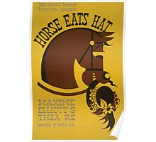 WPA United States Government Work Project Administration Poster 0909 Horse Eats Hat Maxine Elliot's Theatre Poster