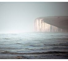 stormy seas at seven sisters 1 Photographic Print