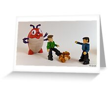 Cuddly Critters Confound Captain! Greeting Card