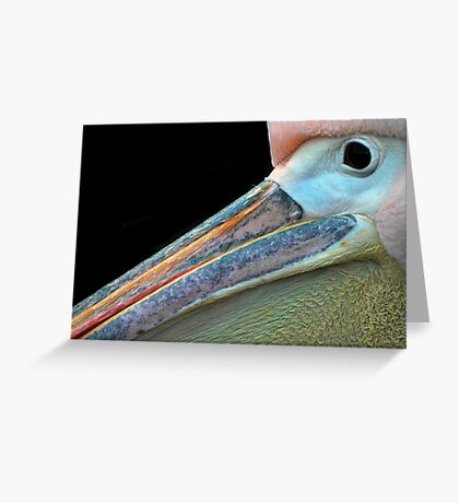 Mr.Pelican. Greeting Card