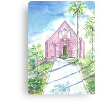 Caribbean Church Canvas Print