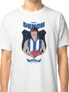 David Dench - North Melbourne (white shirt) Classic T-Shirt