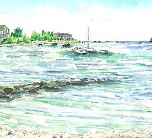 Calm Waters - Labor Day 2010 by mleboeuf