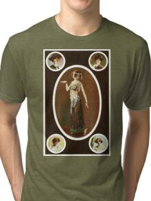 Victorian ladies vintage  Tri-blend T-Shirt