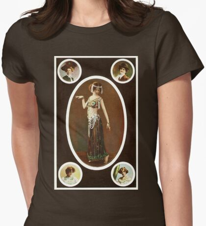 Victorian ladies vintage  Womens Fitted T-Shirt