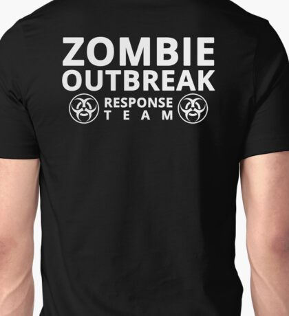 Zombie Outbreak Response Team (Almost every product) Unisex T-Shirt