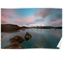 Dawn At The Lochan Poster