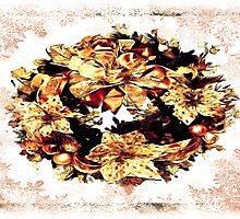 Christmas Wreath #2 by Beatriz  Cruz