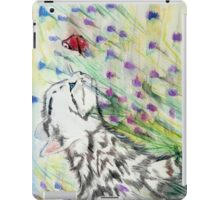 Curious Kitty iPad Case/Skin