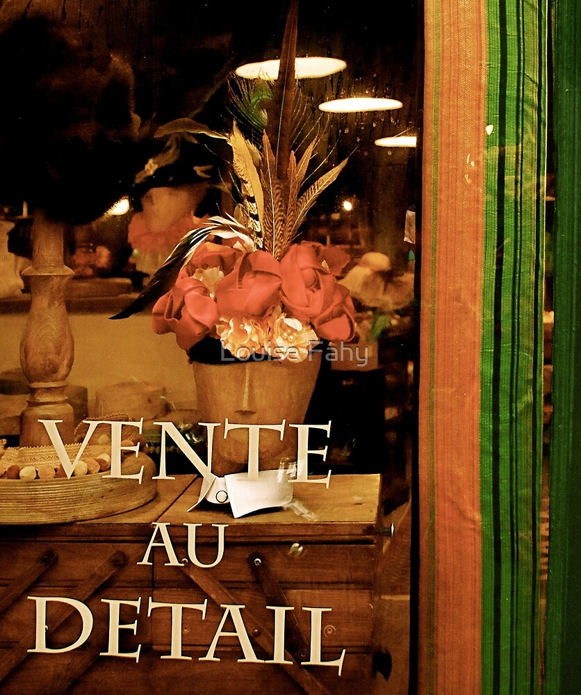 Vente au Detail by Louise Fahy