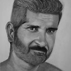 Me again...in pencils by Kostas Koutsoukanidis