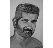 Me again...in pencils Photographic Print